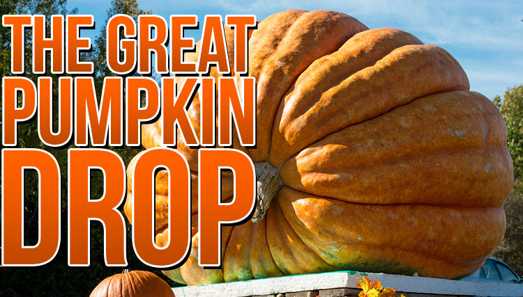 The Great Pumpkin Drop